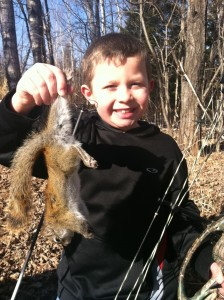 Small game arrow tips for squirrels